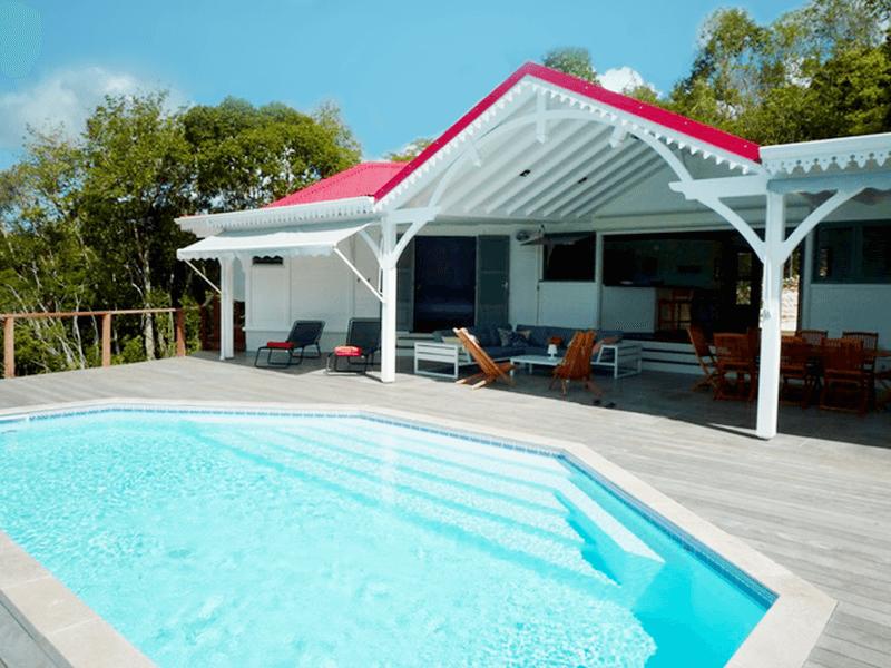 Location Villa Avec Piscine Couverte