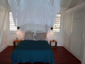 Main bedroom of the villa