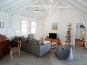 Lounge of the villa