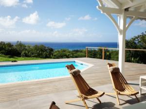 Swimming pool of the villa
