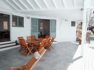 Villa Inattendue Marie-Galante terrasse cosy