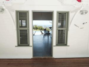 Villa Inattendue Marie-Galante vue cuisine