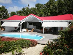Location villa luxe piscine Marie-Galante
